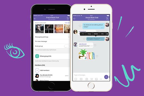 Viber запускает чаты-сообщества на 1 млрд участников