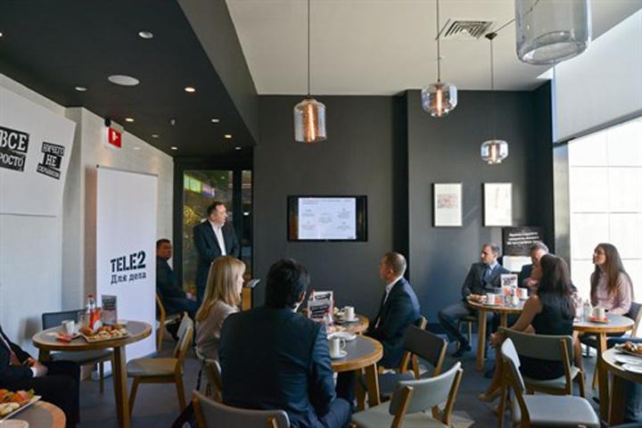 Tele2 провела деловой завтрак для предпринимателей Мурманска
