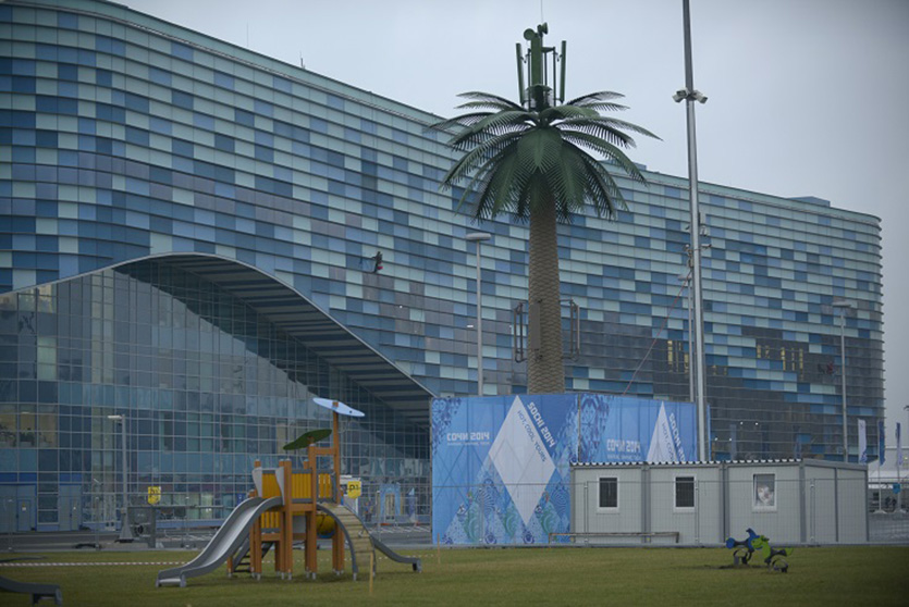 Вышка-пальма в Олимпийском парке Сочи