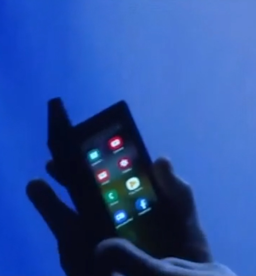 samsung сгибаемый смартфон